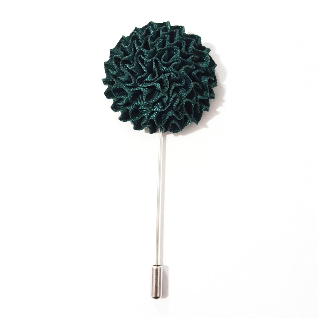 Forest Green 'Burst' Lapel Pin