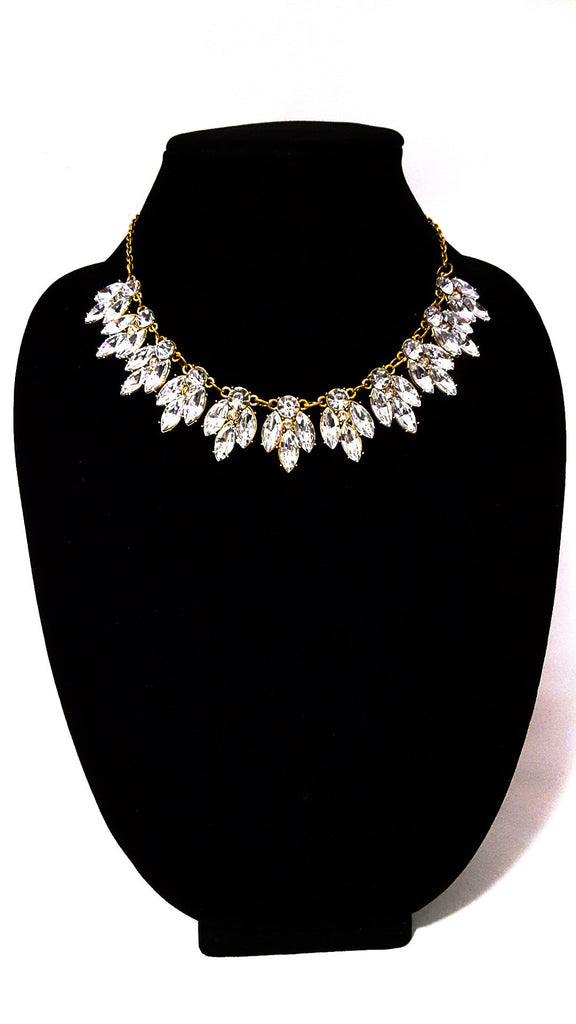 Gold-Plated 'Shimmer' Necklace