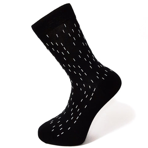 Black Dash Socks
