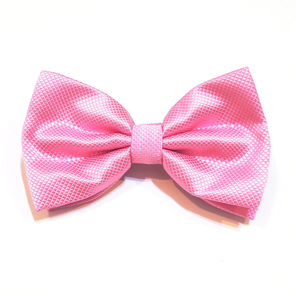 Light Pink Pattern Bow Tie
