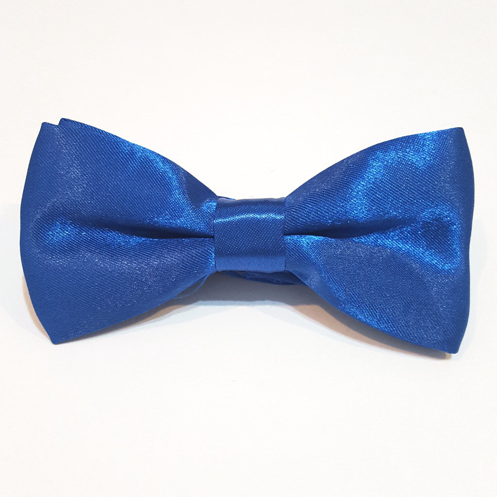 Kids Blue Bow Tie