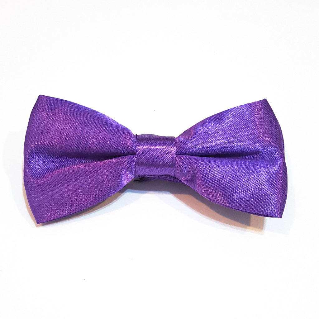 Kids Purple Bow Tie