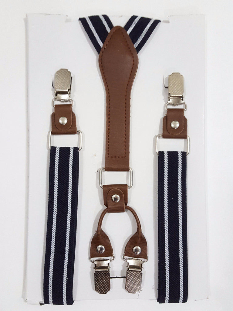 Striped Suspenders