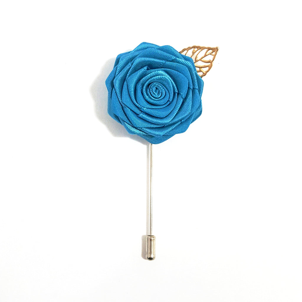 Blue Rose Lapel Pin