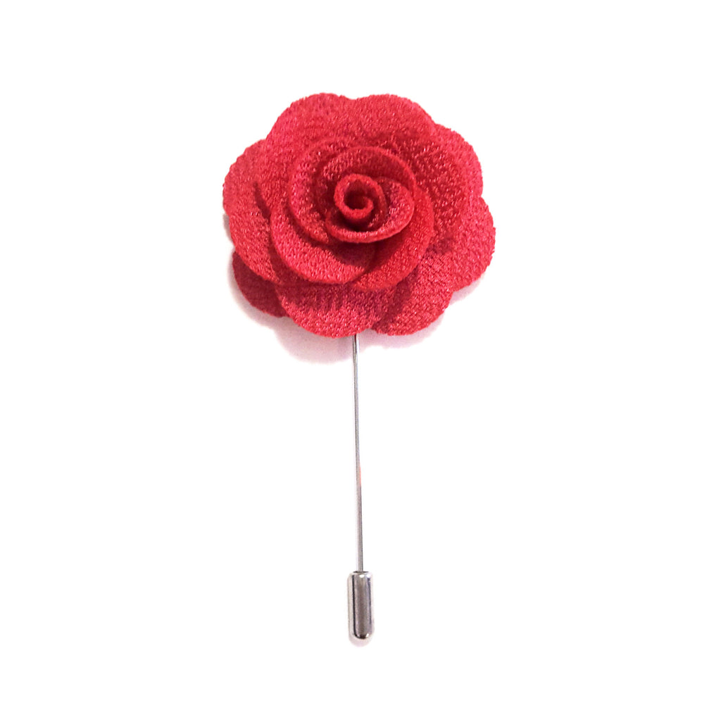 Pink Coral Small 'Flower' Lapel Pin