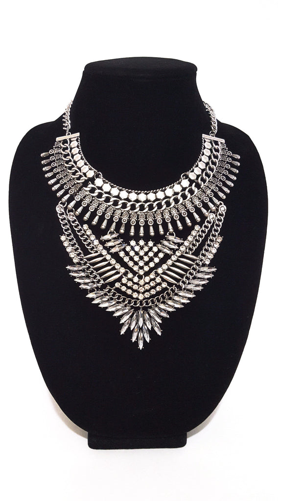Silver 'Cleopatra' Necklace