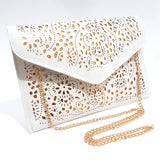 'Posh' Cutout Envelope Clutch