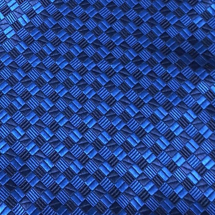 Silk Blue Pocket Square