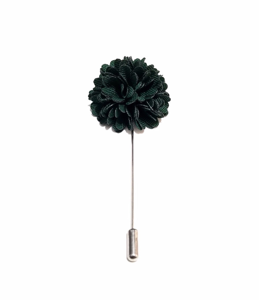 Green 'Bloom' Lapel Pin