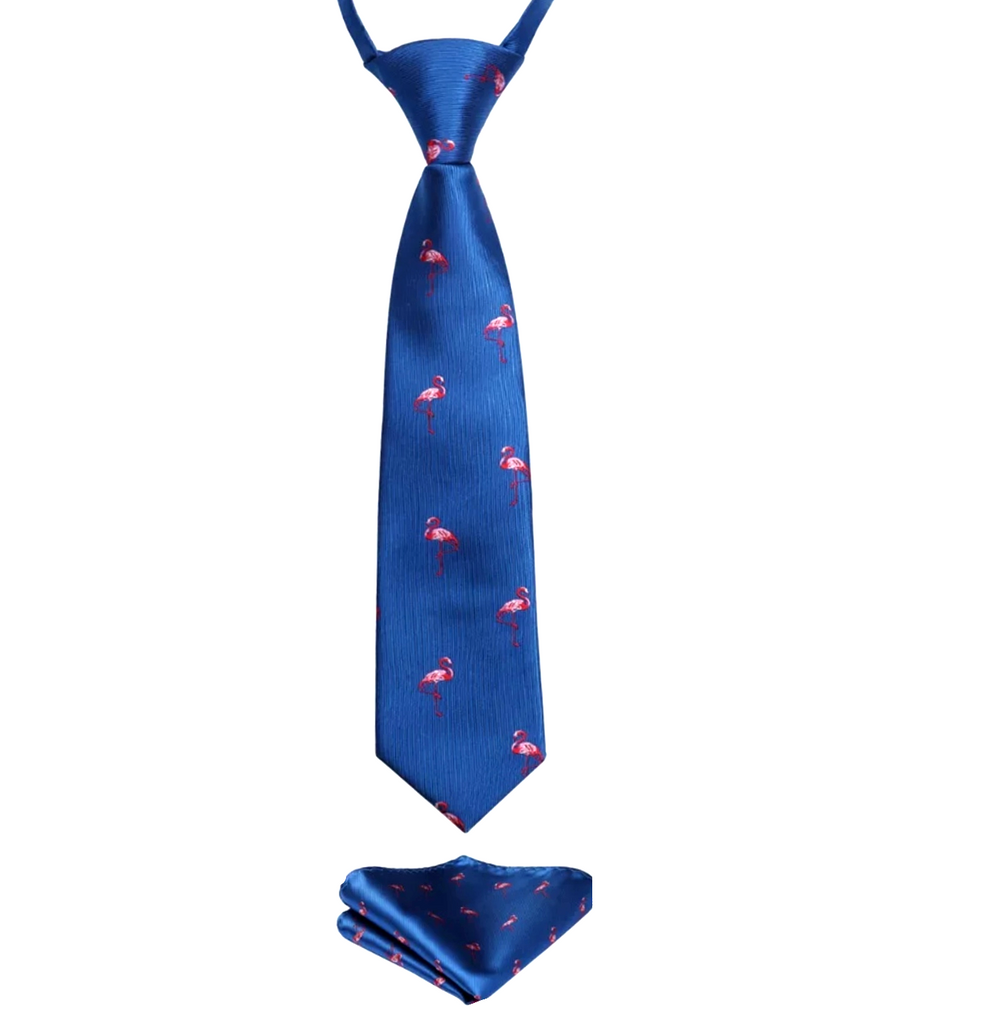 Kids Flamingo Tie Set