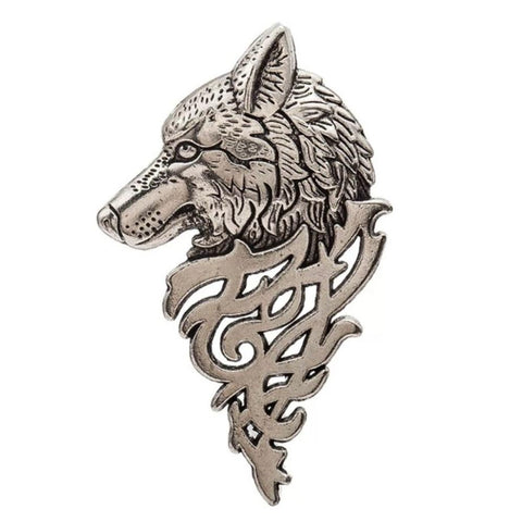 Game of Thrones Direwolf Pin - Silver