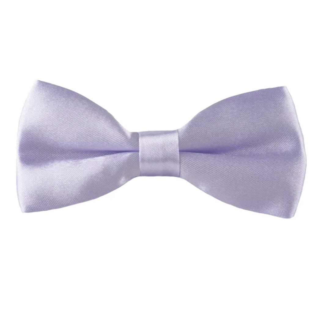 Kids Light Purple Bow Tie