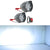 R.J.VON Bike Fog Light 9 Led (15 W Pack of 2)