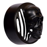 R.J.VON RJEXSCOM01 Grill Headlight,Indicator,Tail Light Grill With Skull Face,Eyes