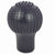 R.J.VON Anti-Scratch Bump Gear Shift Lever Cover (Black)