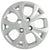 R.J.VON Premium Stylish Silver Colour Wheel Cover For All Car.(Set of 5 pcs)