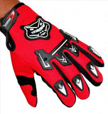 R.J.VON Arm Sleeves With Kinghood Gloves Perfect Universal (Red,Free Size)