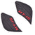 Premium Quality Rubber Thigh tank Pads For Yamaha MT-15,(RED).