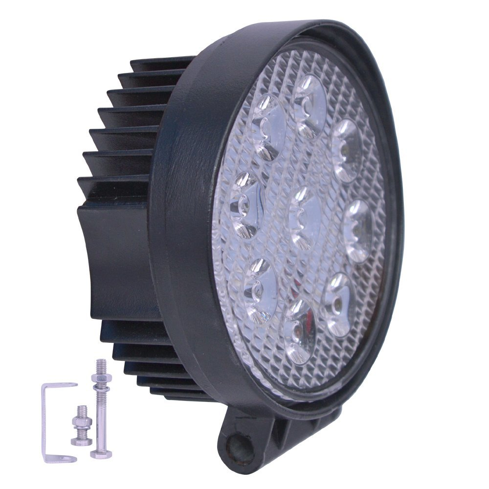 R.J.VON - Bike Fog light 9 led Aux Super Bright With ON/OFF Switch ...