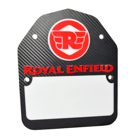 R.J.VON LED Tail Light Number Plate Acrylic