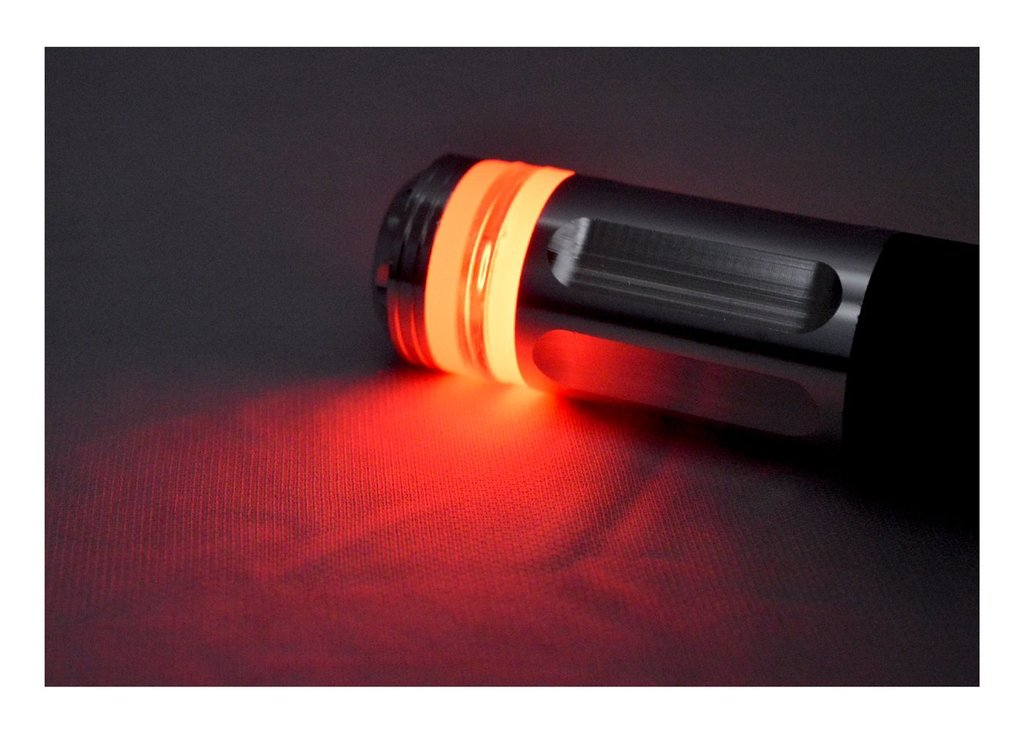 R J Von RJEXPRESSRG05 Hand Grip with End Bar LED Light (Pack of 2