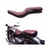R.J.VON Premium Royal Cruiser Low Full Seat( Brown) for   Royal Enfield Classics 350/500, Standard | Electra 350/500, Thunderbird 350/500