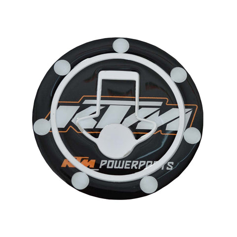 R.J.VON  Bike KTM Petrol key Sticker