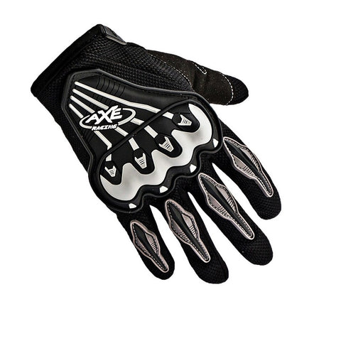 R.J.VON -  AXE Motorcycle Riding &Touring Hand Gloves Full Finger