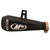 R.J.VON Universal Bike M4 Exhaust Silencer Long Straight (Black)