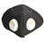 Face Mask With Double Air filter 6 Layer Production Black