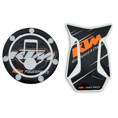 R.J.VON Bike KTM Petrol Tank With key Sticker
