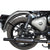 Premium Quality Stainless Steel  Indori Silencer With Cover For Royal Enfield Classic: 350&500, BS4 & BS6 Models (Black).