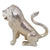 Bike Decorative  Chrome  Sitting Lion Dhari  Mudguard(Big)