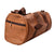Duffle Gym Bag .(DarkBrown/Light Brown/ Black)