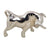 Bike Decorative Chrome Bull Takkar Mudguard (small)