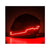 R.J.VON Motorcycle Helmet Light Strip, LED Light Motorcycle Helmet Kit Night Riding Signal Flashing Stripe Bar(Red)