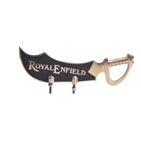 R.J.VON - Decorative Real Customized Front Mudguard Small Brass