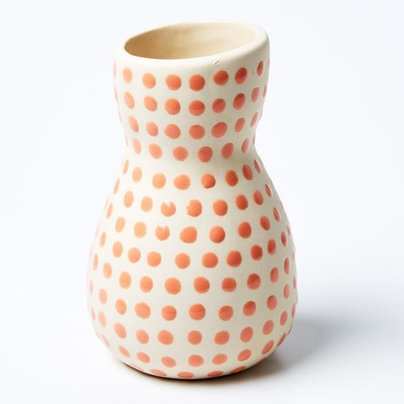 Saturday Vase Pink Mini Spot