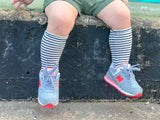 Stripe knee high socks