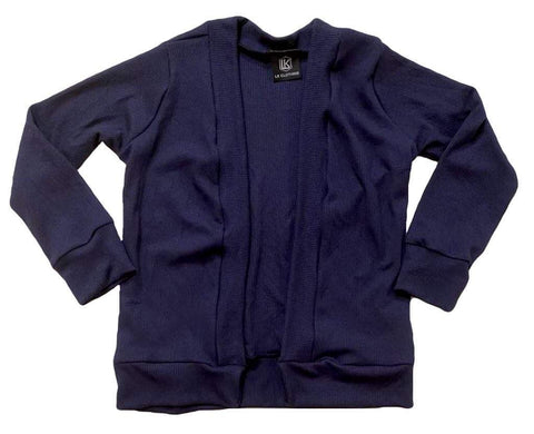 Navy Cardigan OR Raglan