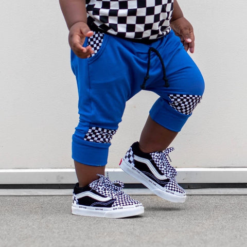Checker Harem Shorts (4 colors)