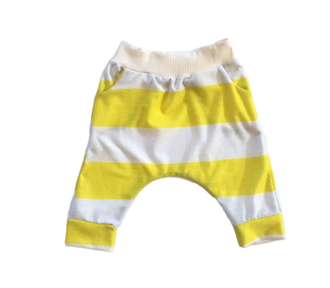 Sunshine Stripe Harem Shorts