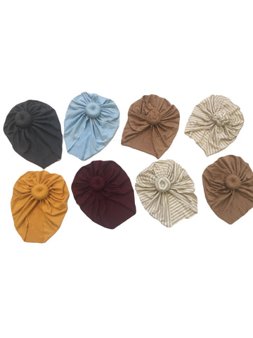 Turbans (6 colors / braided / non braided) RTS