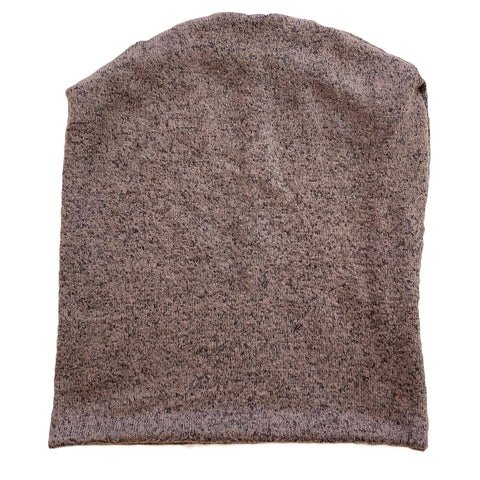 Heathered Brown Beanie