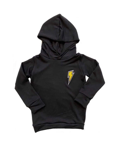 Bolt Patch Hoodies | Classic Style