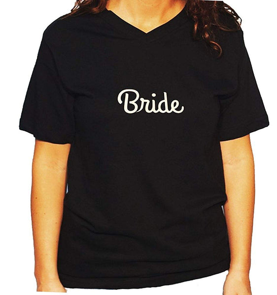Women's / Unisex T-Shirt with Bride in Glitter