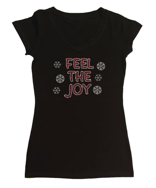 Feel the Joy with Snowflakes Christmas