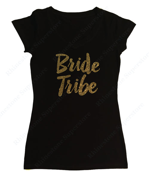 Gold Bride Tribe in Rhinestones