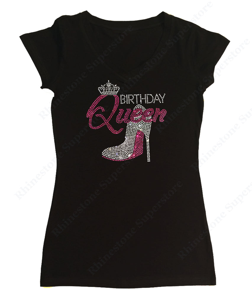 Pink Birthday Queen with Heel