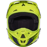 Fox Racing V-1 Race Helmet Bt. Yellow - 3